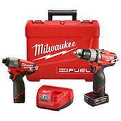 Milwaukee® 2594-22 M12 FUEL™ Drill & Impact Driver 2-Tool Combo Kit