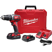 "Milwaukee® 2607-22CT M18™ Compact 1/2"" Hammer Drill/Driver Kit"