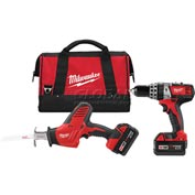 Milwaukee® 2695-22 M18™ Cordless Li-Ion 2-Tool Combo Kit
