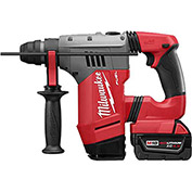 "Milwaukee 2715-22DE M18 Fuel 1-1/8"" Sds Plus Rotary Hammer & HAMMERVAC Dedicated Dust Extractor Kit"