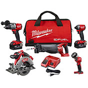Milwaukee® 2896-24 M18™ FUEL™ Li-Ion 4-Tool Combo Kit
