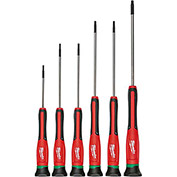 Milwaukee® 48-22-2610 6 Pc. TORX® Precision Screwdriver Set W/ Case