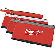 Milwaukee® 48-22-8193 3 Pk Zipper Pouches