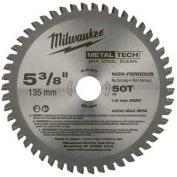 "Milwaukee® 48-40-4075 5-3/8"" 50 Teeth Non-Ferrous Metal Circular Saw Blade"