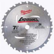 "Milwaukee® 48-40-4123 7-1/4"" 24 Carbide Teeth Circular Saw Blade"