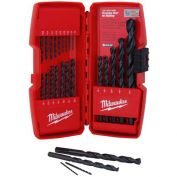Milwaukee® 48-89-2801 21pc Thunderbolt® Black Oxide Drill Bit Set