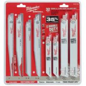Milwaukee® 49-22-1132 32 Pc. Mega SAWZALL® Blade Kit