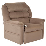 Mega Motion Perfecta 3 Position Power Lift Recliner Chair - Camel