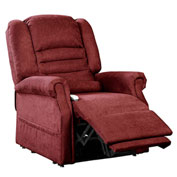 Mega Motion Serene Power Recliner with Lift Chair - Infinite Position - Burgundy