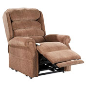 Mega Motion Stellar 3 Position Power Lift Recliner Chair - Curry