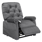 Mega Motion Classica 3 Position Power Lift Recliner Chair - Charcoal