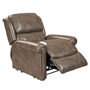 Mega Motion Uptown 3 Position Power Lift Recliner Chair - Mushroom