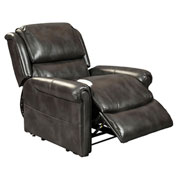 Mega Motion Uptown 3 Position Power Lift Recliner Chair - Slate