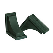 "Mayne® 4828-G Nantucket Decorative Corbels, Green, Polyethylene, 8"" x 7"" x 4"", 2/Pack"