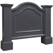 "Mayne Nantucket Address Sign 5820-G - 32""H Granite"
