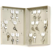 MMF STEELMASTER® 28-Key Steel Security Cabinet 201202889 with Combo Lock, Putty