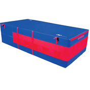"Mancino Safety Pit Royal, 6' x 12' x 24"" Thick - GI246x12Roy"