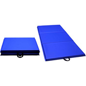 "Mancino Premium Personal Fitness Mat Royal, 30"" x 72"" x 1-3/8"" Thick - GIEM30x72"
