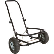 Little Giant CA500- All-Purpose Two-Wheel Muck Cart , Pneumatic Tires, Black
