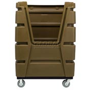 MODRoto Chocolate Brown Hopper Front 72S Poly-Trux® 48 Cu. Ft.
