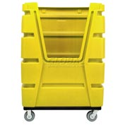 MODRoto Bright Lemon Yellow Hopper Front 72S Poly-Trux® 48 Cu. Ft.