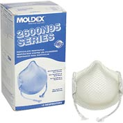 Moldex 2601N95 2600 Series N95 Particulate Respirators with HandyStrap®, Small, 15/Box