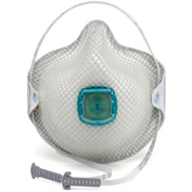 Moldex 2730N100 2730 Series N100 Particulate Respirators with HandyStrap®, 5/Box
