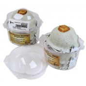 Moldex Medium/Large N95 Particulate Disposable Respirator With Ventex Exhalation Valve, Dura-Mesh S