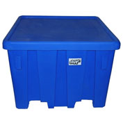"MODRoto Bulk Container with Lid UN/DOT Rated P291 - 16 Bushel 45""L x 45""W x 33""H Jade Green"