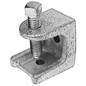 """Morris Products 17472, Mallable Iron Rod Support Beam Clamp 1/4""""-20"""