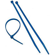 "Morris Products 20615, Blue Nylon Cable Ties 50LB 8"", 100 Pk"