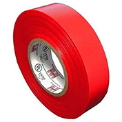 """Morris Products 60010, Vinyl Plastic Electrical Tape 7MIL X 3/4"""" X 60' PVC Red"""