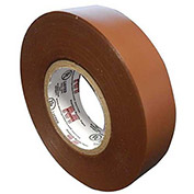 "Morris Products 60060, Vinyl Plastic Electrical Tape 7MIL X 3/4"" X 60' PVC Brown"