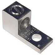 Morris Products 90712, Aluminum Mechanical Lugs One Conductor - One Hole Mount #6-#14 Awg