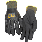 MAPA® Ultrane 526 Grip & Proof Nitrile Fully Coated Gloves, Lt Weight, 1 Pair, Size 9, 526419