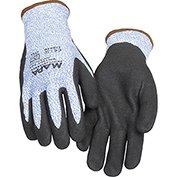 MAPA® Krynit Grip & Proof 581 Nitrile Palm Coated HDPE Gloves, Cut Level A4, 1 Pair, Size 10