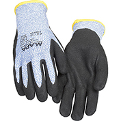 MAPA® Krynit Grip & Proof 581 Nitrile Palm Coated HDPE Gloves, Cut Level A4, 1 Pair, Size 9
