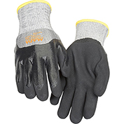 MAPA® Krynit Grip & Proof 599 Nitrile 3/4 Coated HDPE Gloves, Cut Level A2, 1 Pair, Size 9
