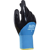 MAPA ® Temp-Ice 700 Nitrile 3/4 Coated Thermal Gloves, 1 Pair, Size 8, 700418