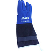 "MAPA® Cryoplus 2.0 Waterproof Cryogenic Gloves, Leather Safety Cuff, 15""L, Size 9, CRYPLS203809"