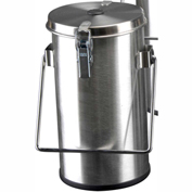 Thermo Scientific Thermo-Flask Benchtop Liquid Nitrogen Container with Lid and Handle, 2.01 Liters