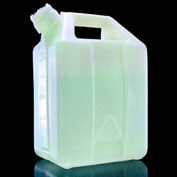 Thermo Scientific Nalgene™ Fluorinated HDPE Jerricans with Closure, 10 Liter, Case of 6