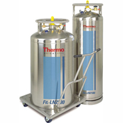 "Thermo Scientific LN2 Supply Tank, 230 Liters, 26"" Dia. x 54.8""H"