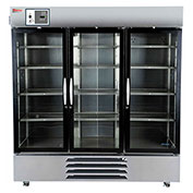 Thermo Scientific GP Lab Refrigerator, Stainless Steel Chamber, Glass Doors, 72 Cu.Ft.