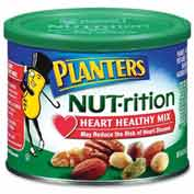 Planters Heart Healthy Mix, Assorted Nuts, 9.75 Oz