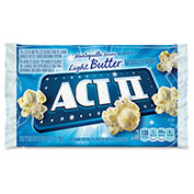 ACT II Microwave Popcorn, Light Butter, 2.75 Oz, 36/Carton