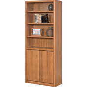 Martin Furniture Library Bookcase - Contemporary Office Series