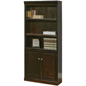 Martin Furniture Fulton Library Bookcase - kathy ireland Home Series