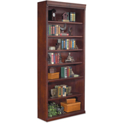 "Martin Furniture Huntington Club 84"" Open Bookcase - kathy ireland Home Series"