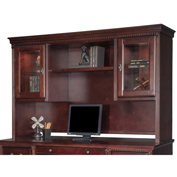 Martin Furniture Storage Hutch - Cherry - Huntington Club Office Series